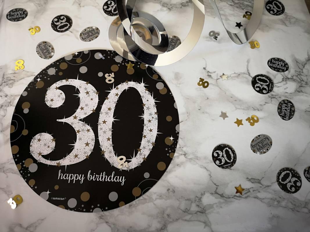30 Konfetti Geburtstag