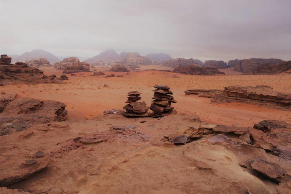 Jordanien Wadi Rum Stein Wüste rot