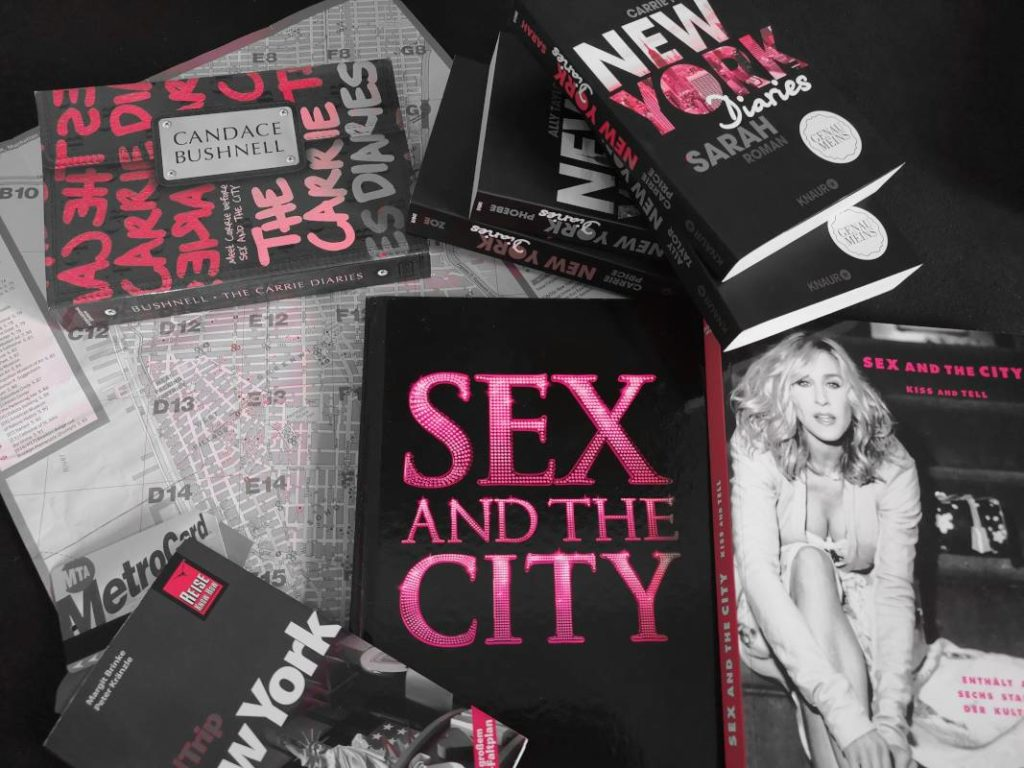 NYC new York City Bücher SATC