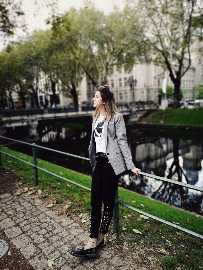 Trend Herbst 2018 Karo Blazer