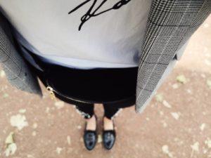Trend Herbst 2018 Loafer Lack schwarz Blazer