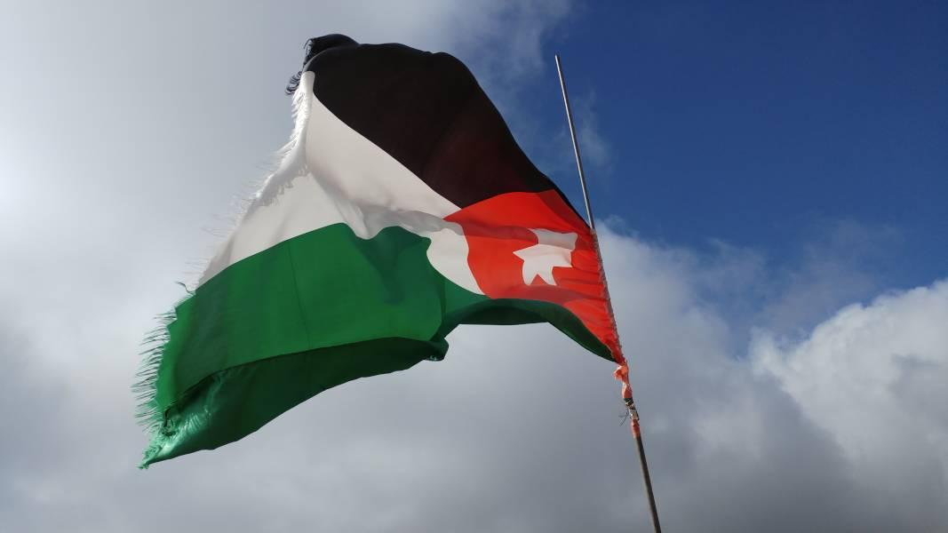 Jordanien Flagge
