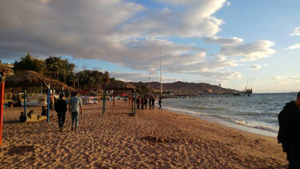 Strand Aqaba Jordanien