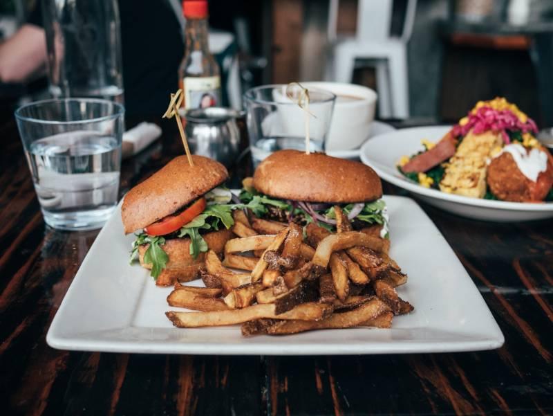 Veganer Burger_