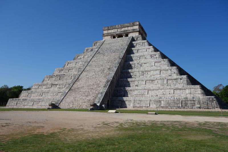Mexiko_Chichen Itza_El Castillo