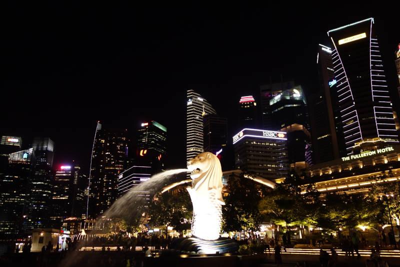 Merlion_Singapore_Singapur