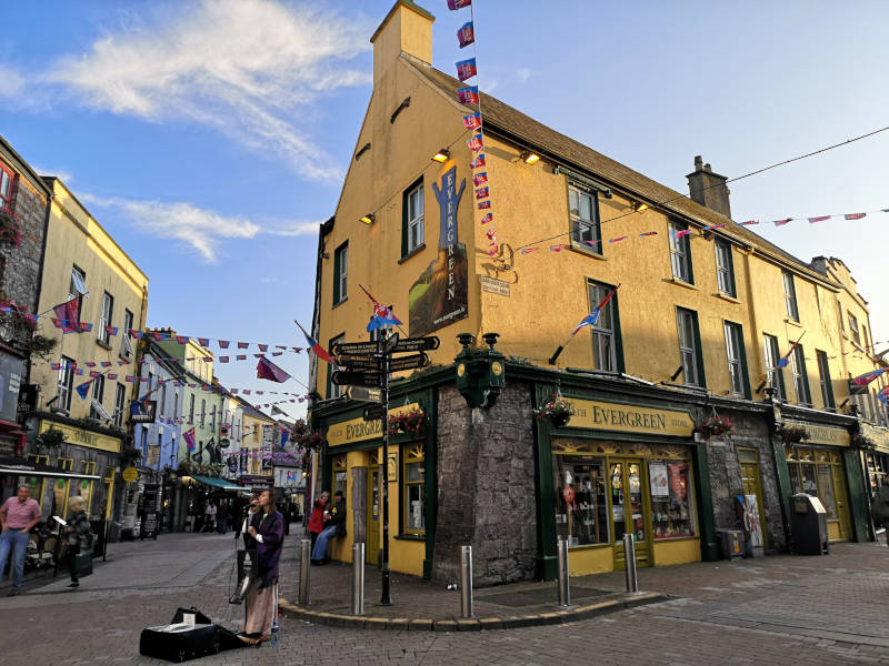 Irland Galway Downtown Pub