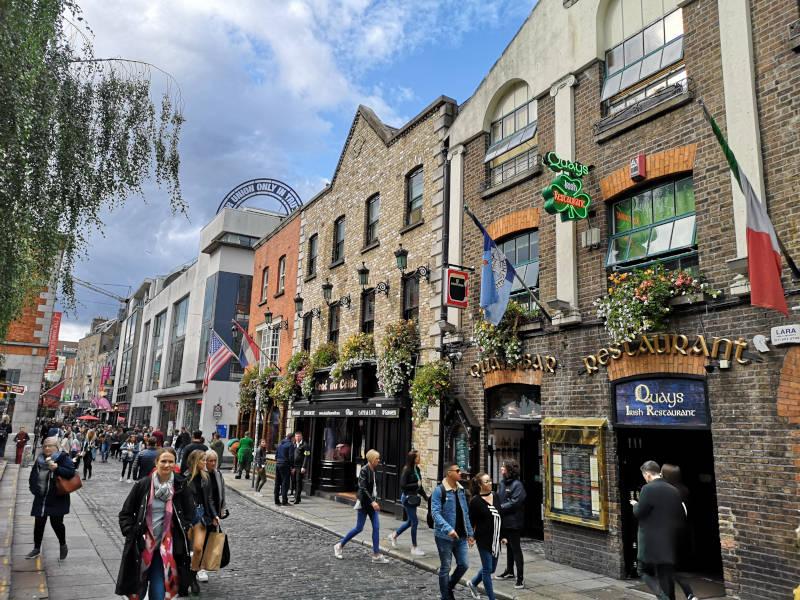 Irland Dublin Temple Street