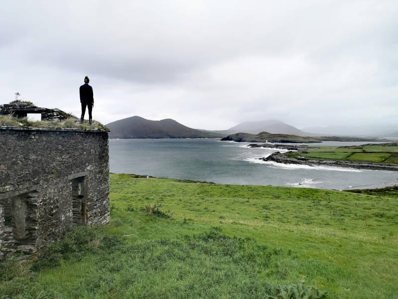 Irland Valentia Island Leuchtturm