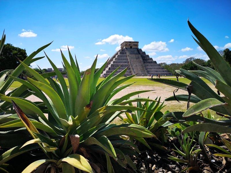 mexiko-yucatan-chichen-itza-kukulkan pyramide