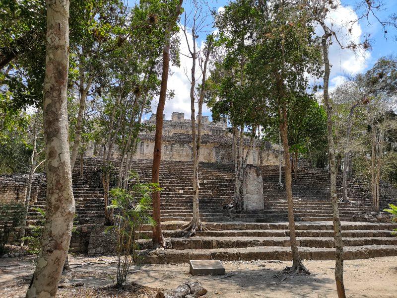 mexiko-yucatan-rundreise-calakmul-mayastätte2