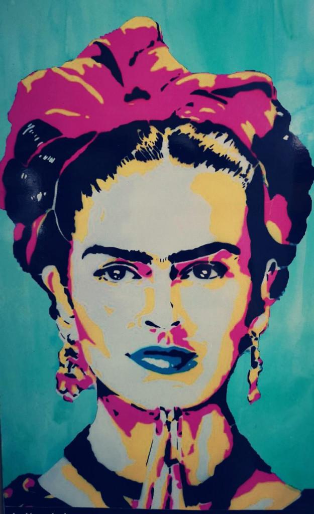 Frida Kahlo_Wandbild_Streetart_Tulum_Mexiko