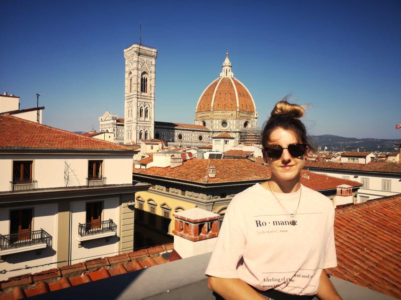 Florenz_Santa Maria del Fiore_Glockenturm_Aussicht_Italien_Rundreise_Modeblog Kulturblazer