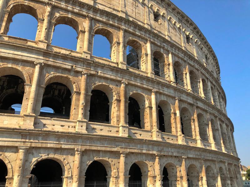Rom Kolosseum Italien Rundreise Modeblog Kulturblazer