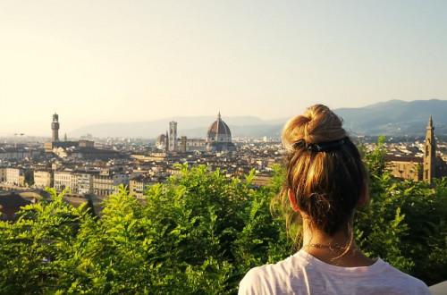 Sonnenuntergang_Piazzale Michelangelo_Florenz_italien_rundreise_Modeblog_Kulturblazer